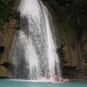Rafting under  Kawaqsan falls