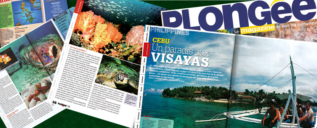 Article in Plongee Dive Magazine